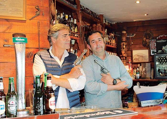 Saloon Bar La Frontera. Un clásico de la noche pozuelera