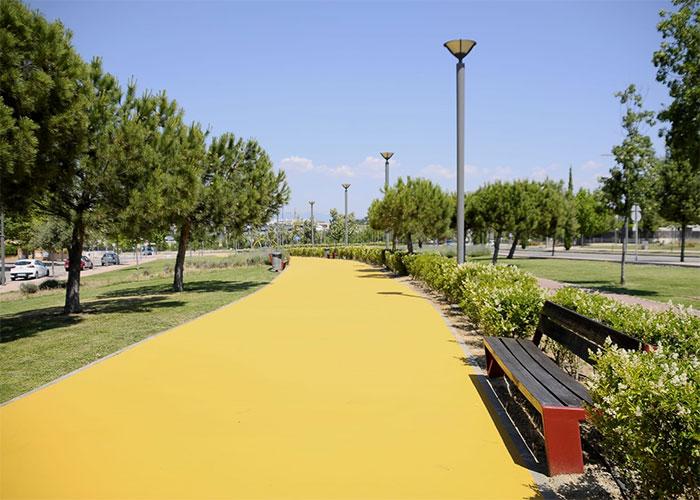 Finalizadas las obras de reforma de la senda para ciclistas y peatones del parque Quique Camoiras