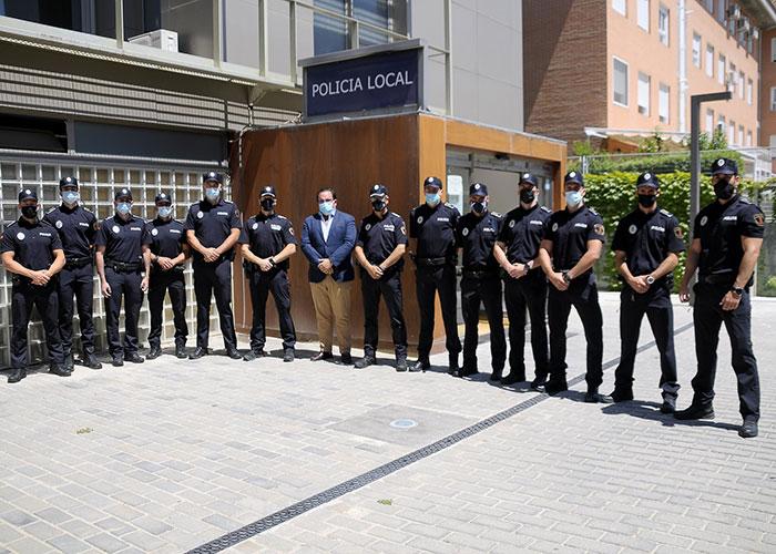 La Policía Local suma once nuevos agentes que acaban de finalizar su periodo de formación