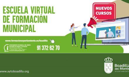 2167 vecinos han realizado este año casi 5000 cursos en la Escuela de Formación Virtual