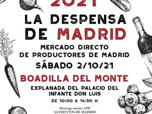 La Despensa de Madrid llega este sábado a Boadilla