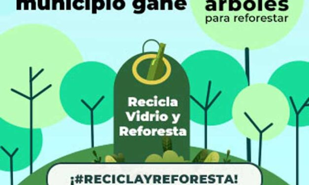 Boadilla participa en la campaña «Recicla vidrio y reforesta», promovida por Ecovidrio